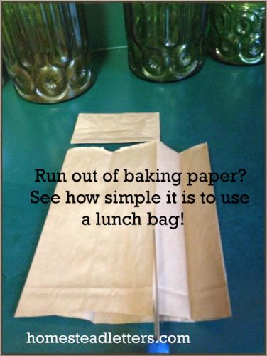 DIY Baking Paper