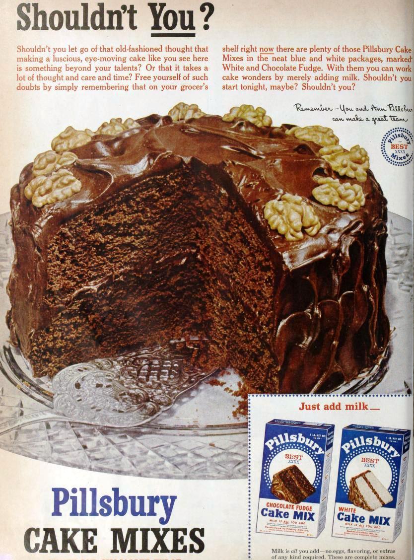 Half Homemade Cake Recipes