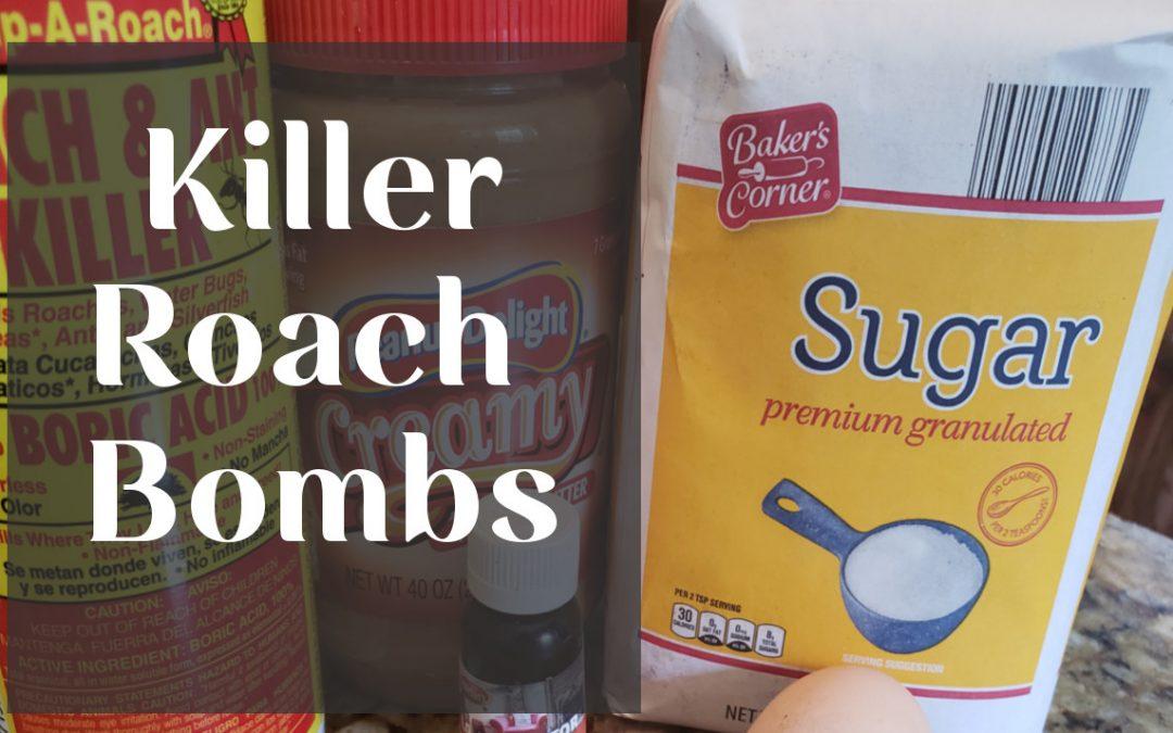 Killer Roach Bombs